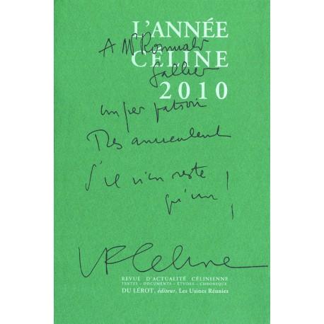 L'Année Céline 2010