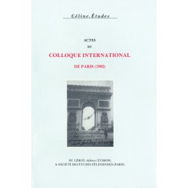 Actes du Colloque de Paris (1992)