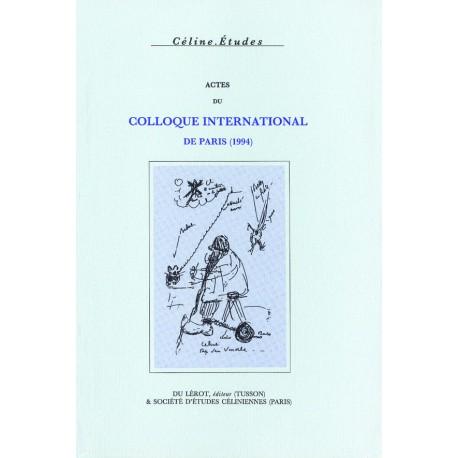 Actes du Colloque de Paris (1994)