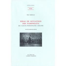 Séébold, Éric. – Essai de situation des pamphlets de Louis-Ferdinand Céline