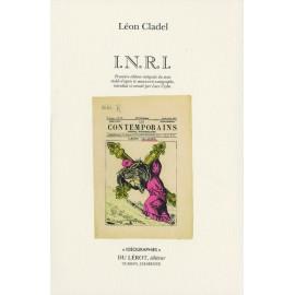 Cladel, Léon – I.N.R.I.