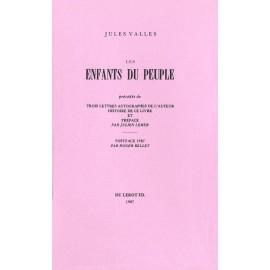 Vallès, Jules – Les Enfants du Peuple