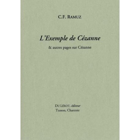 Ramuz, C.F. – L'Exemple de Cézanne