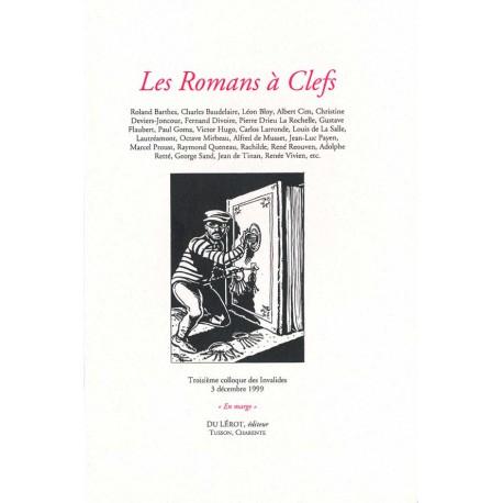 [Colloques des Invalides] 1999 – Les romans à clefs