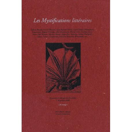 [Colloques des Invalides] 2000 – Les mystifications littéraires