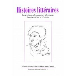 Histoires littéraires 2001-2005 – n° 11