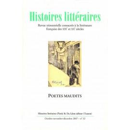 Histoires littéraires 2007 – n° 32