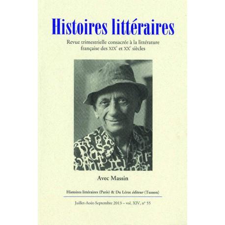 Histoires littéraires 2013 - n° 55