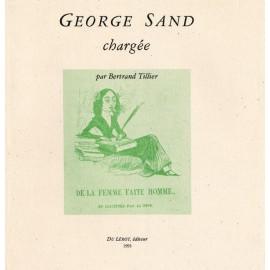 Tillier, Bertrand – George Sand chargée