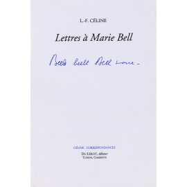 Lettres à Marie Bell