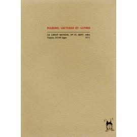 Le Lérot rêveur n°37 – septembre 1983. Poléone, par J.-P. Louis