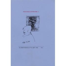 Le Lérot rêveur n°41 – septembre 1985. Industrie littéraire