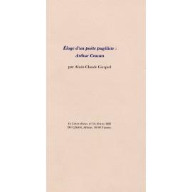 Le Lérot rêveur n°54 – février 1992. Éloges d'un poète pugiliste : Arthur Cravan, par A.-CI. Gicquel