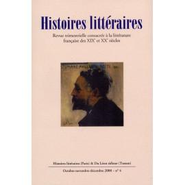 Histoires littéraires 2000 – n° 4