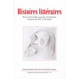 Histoires littéraires 2001– n° 8