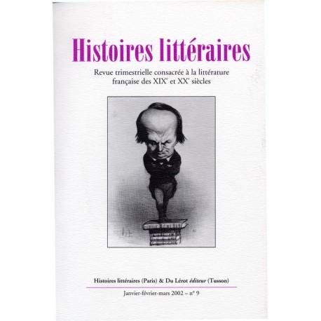 Histoires littéraires 2002 – n° 9