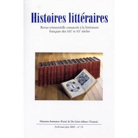 Histoires littéraires 2003 – n° 14