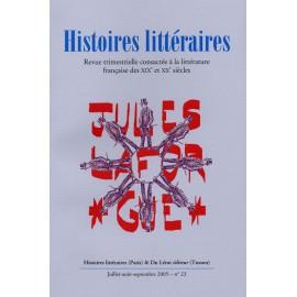 Histoires littéraires 2005 – n° 23