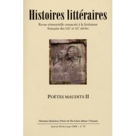 Histoires littéraires 2008 - n° 33