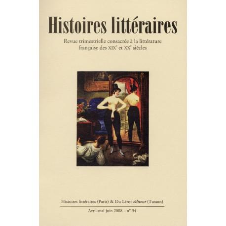 Histoires littéraires 2008 - n° 34
