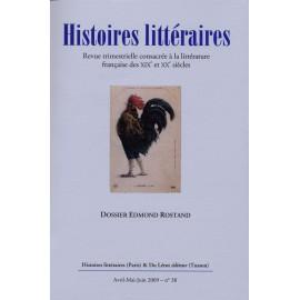 Histoires littéraires 2009 - n° 38