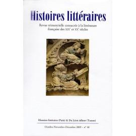 Histoires littéraires 2009 - n° 40