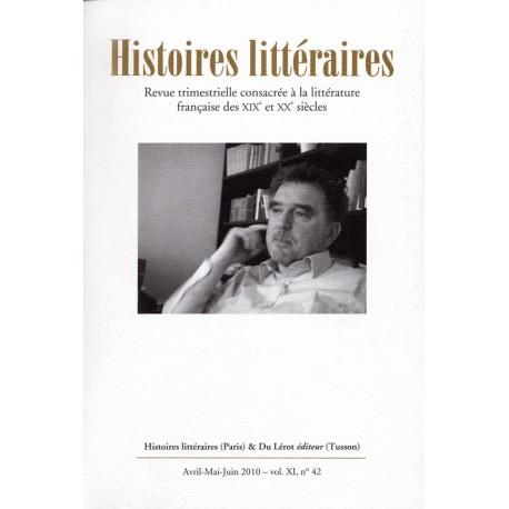 Histoires littéraires 2010 - n° 42