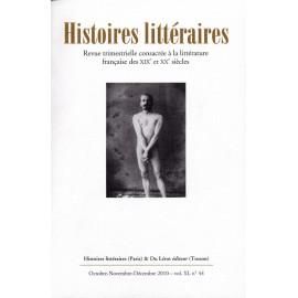 Histoires littéraires 2010 - n° 44