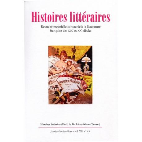 Histoires littéraires 2011 - n° 45