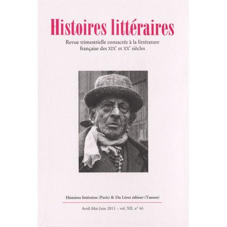 Histoires littéraires 2011 - n° 46