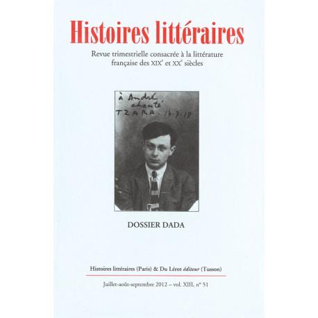 Histoires littéraires 2012 - n° 51