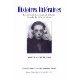 Histoires littéraires 2013 - n° 53