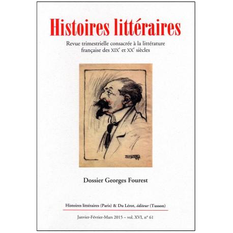 Histoires littéraires - n° 61