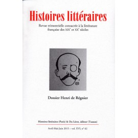 Histoires littéraires 2015 - n° 62