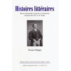 Histoires littéraires 2016 - n° 67