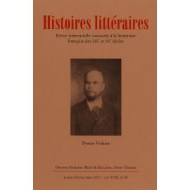 HISTOIRES LITTERAIRES - 2017 - N° 69