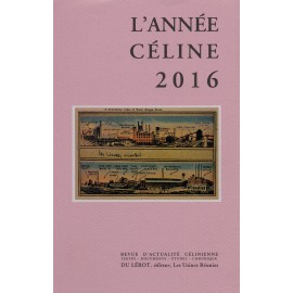 L'ANNEE CELINE 2016