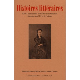 HISTOIRES LITTERAIRES 70