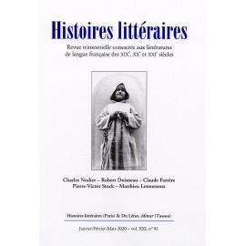 Histoires littéraires 2020 - n° 81
