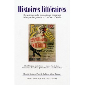 Histoires littéraires 2021 - N° 85